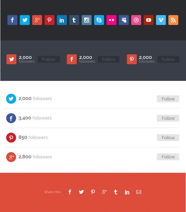 divi 2 social media tools