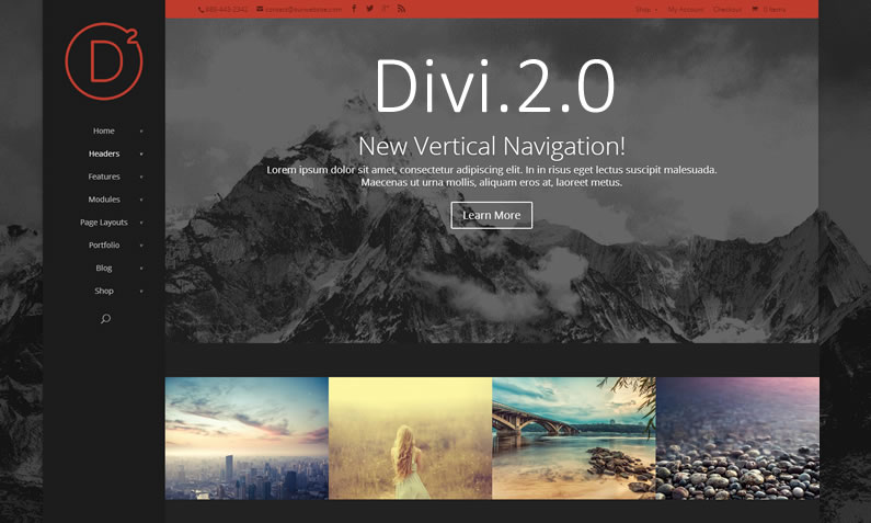 The complete review of the Divi 2.0 theme