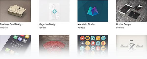 divi theme portfolio module
