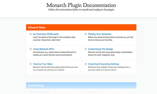 monarch plugin documentation