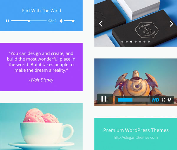Divi theme: the Blog Module    and a Little Extra - divi theme