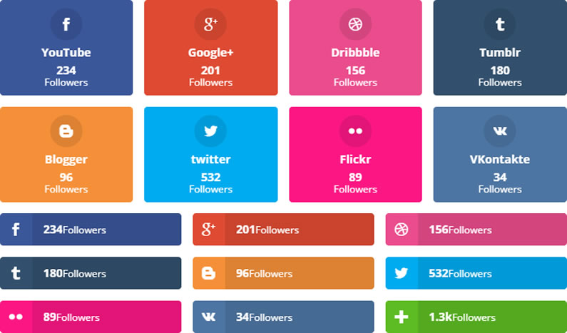Monarch plugin: build and display your Social Followers