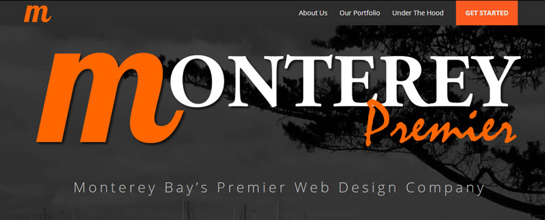 monterey premier divi theme top navigation