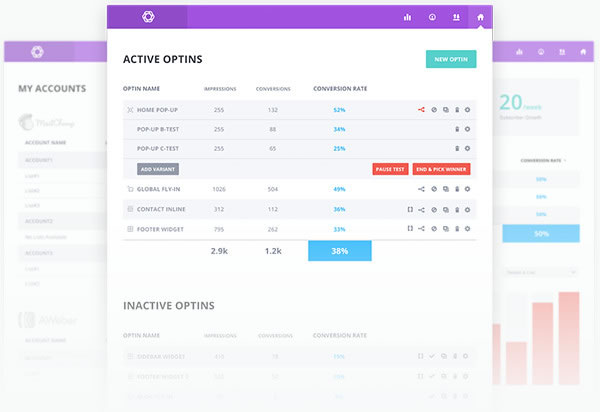 bloom optin plugin stats and insights