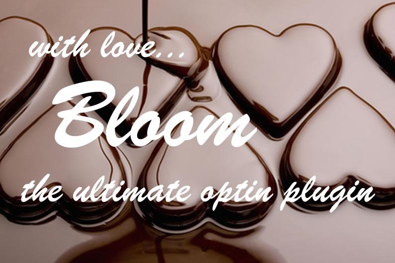 Bloom email optin plugin: coming soon… very soon
