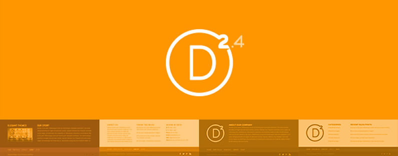 Divi 2 4: Get creative with Divi's new Footer Layouts