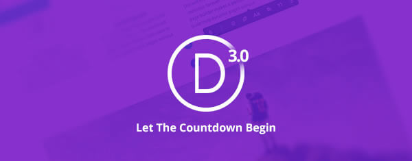 divi 3 countdown day 1