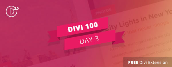 divi 3 countdown day 3