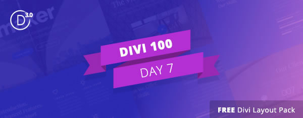 divi 3 countdown day 7