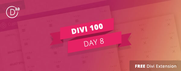 divi 3 countdown day 8