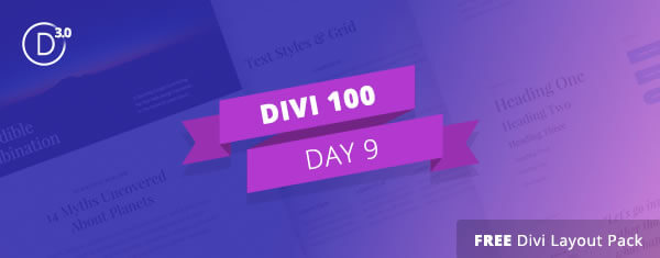 divi 3 countdown day 9