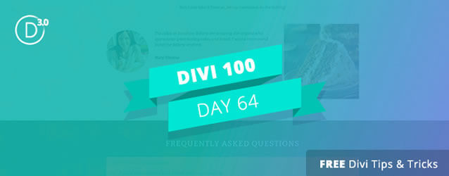 The big divi 3 0 countdown 7 days 61 to 70 - Divi section divider styles ...