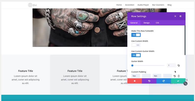 Divi 3 0 visual builder interface the ultimate sneak peek - Divi font awesome ...