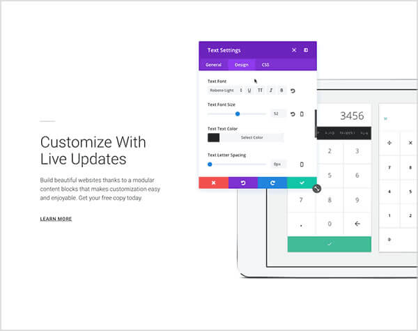 divi 3.0 visual page builder customise everything