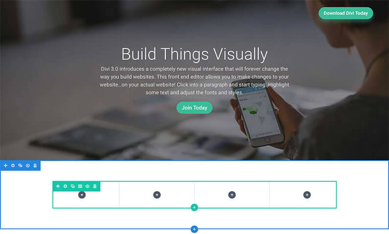 divi 3.0 visual page builder organise your layouts