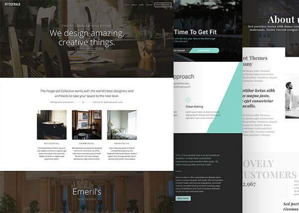 divi 3.0 visual page builder 20+ premade layouts