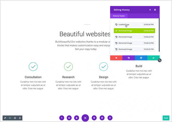divi 3.0 visual page builder real time editing
