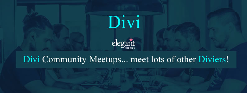 Divi community meetups
