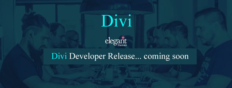 Divi Developer Release