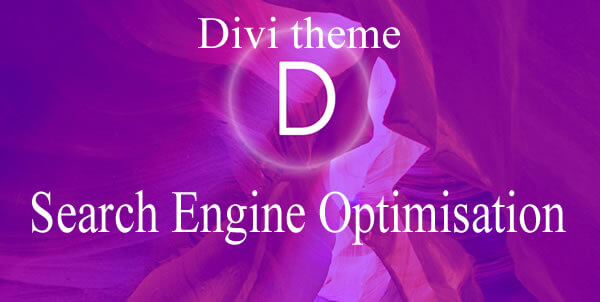 divi theme and seo