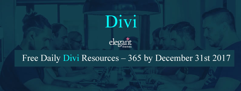 Free Daily Divi Resources