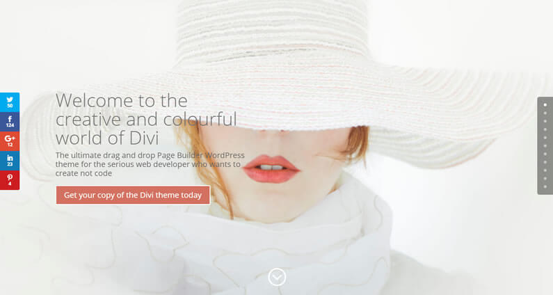 Create a stunning homepage with just four Divi Modules