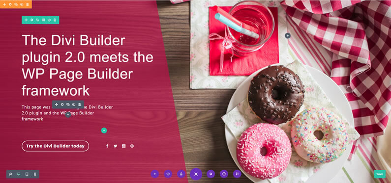 divi builder plugin turns any theme into a visual page builder