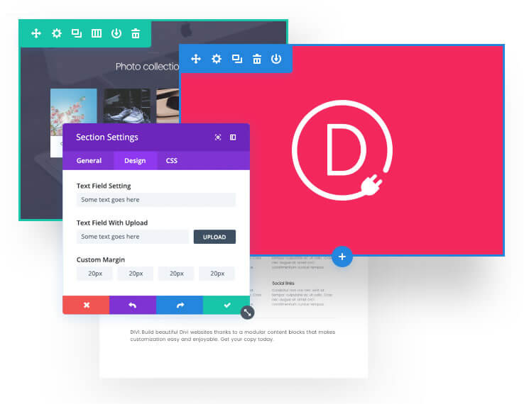 divi builder plugin features