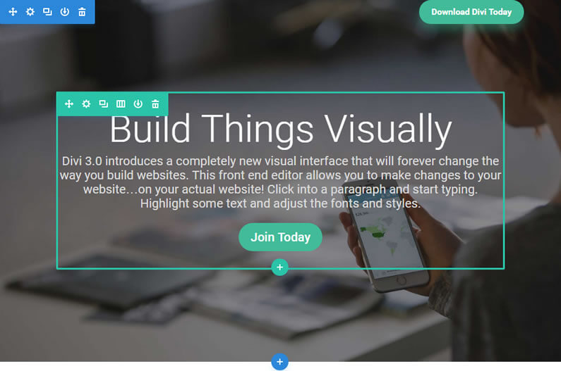 divi visual builder new features
