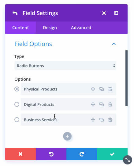 new divi contact form module easy management