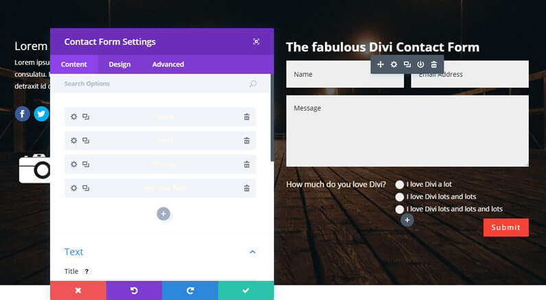 New Divi Contact Form Module blows the competition out of the water