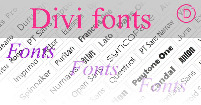 Divi Fonts – 600 New Fonts, Heading Controls and More Text Options