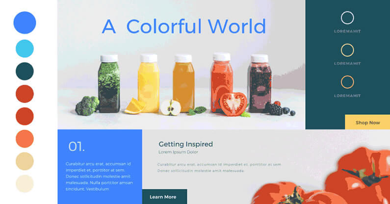 The new Divi Colour Manager – complete with Magic Colour Suggestions