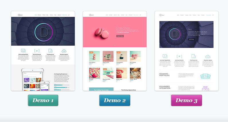 The Divi Builder is at the centre of the Divi WordPress theme