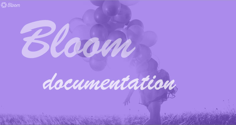 Bloom email opt-in plugin: with in-depth documentation