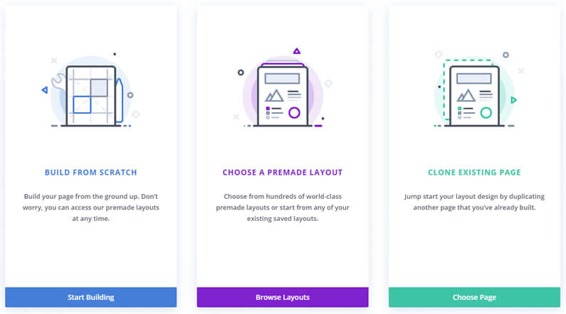 Divi theme Page Creation –  a Faster Workflow for Creating Pages