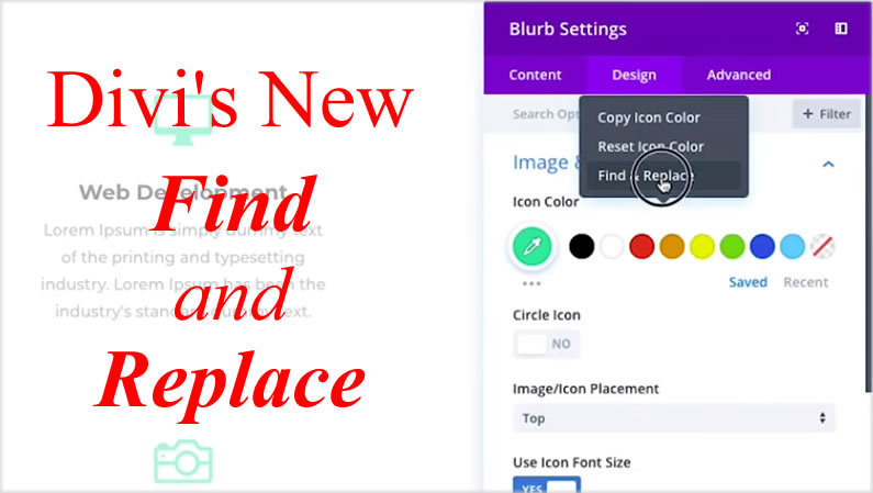 Divi Find and Replace – a fabulous new time saving feature